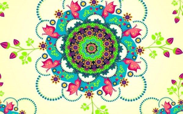 Artistic Pattern Mandala HD Wallpaper | Background Image