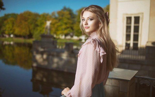 Women Blonde HD Wallpaper | Background Image