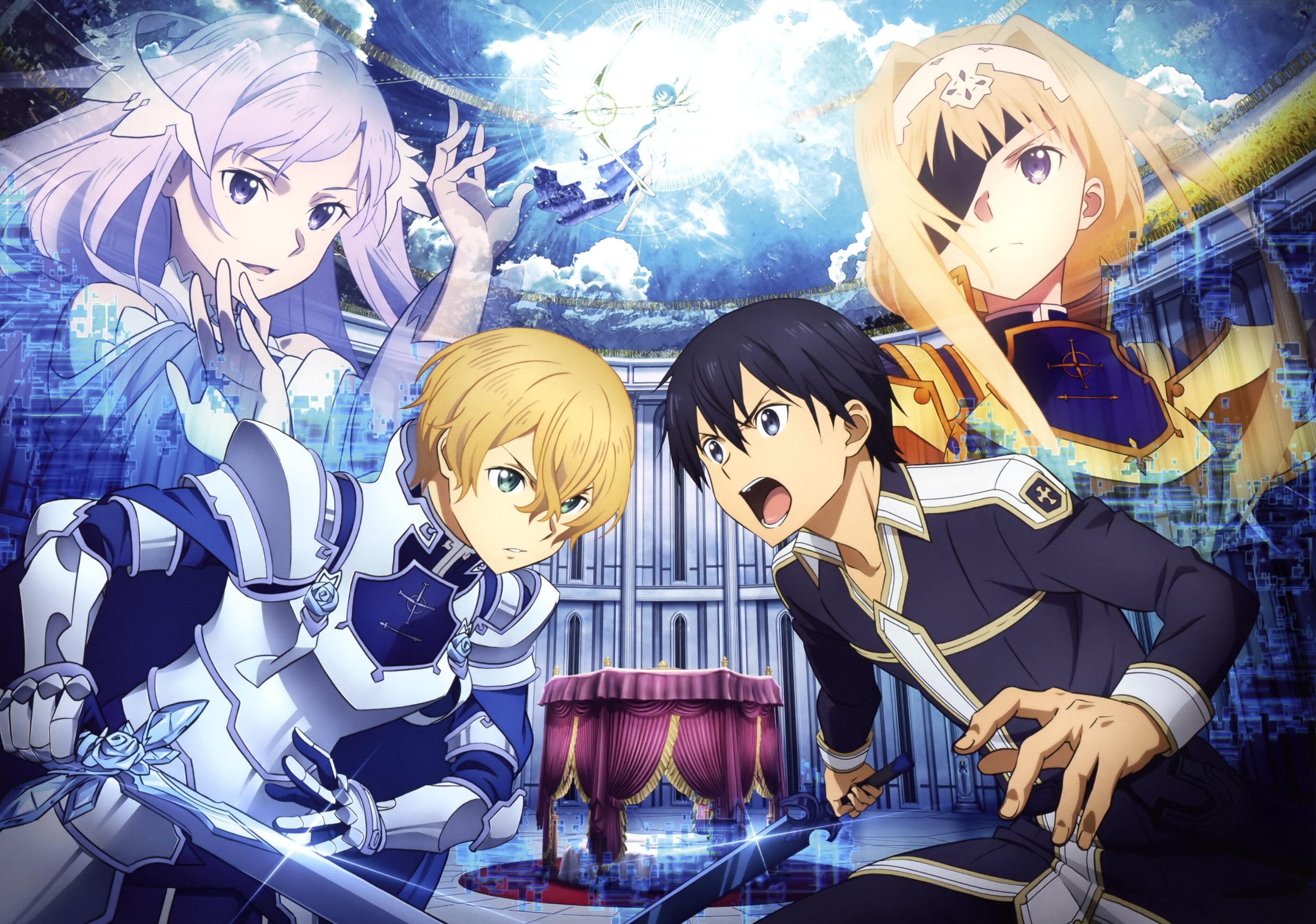 Sword Art Online Alicization Hd Wallpaper Background Image