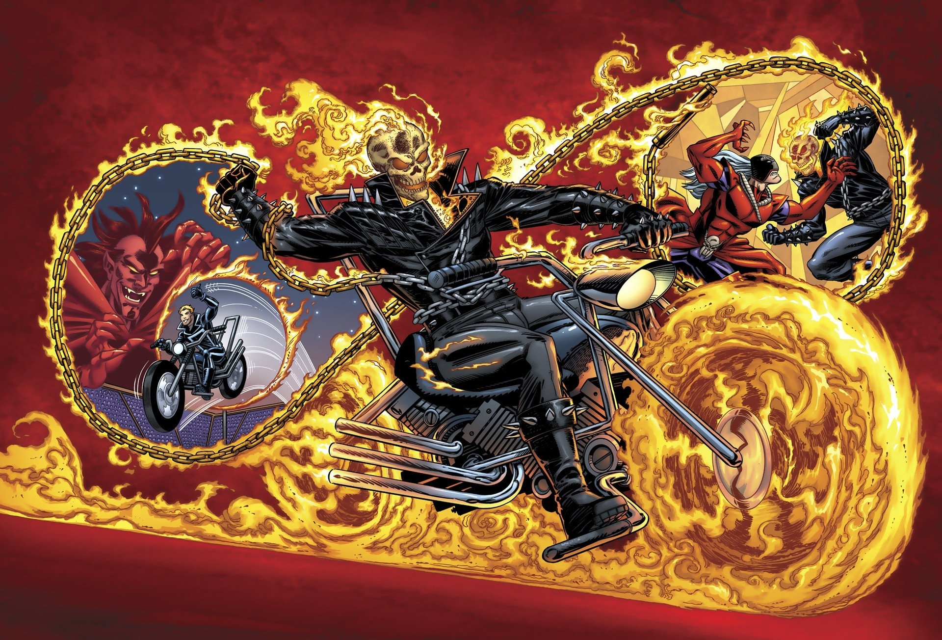 Ghost Rider Hd Wallpaper Background Image 1920x1304 Id