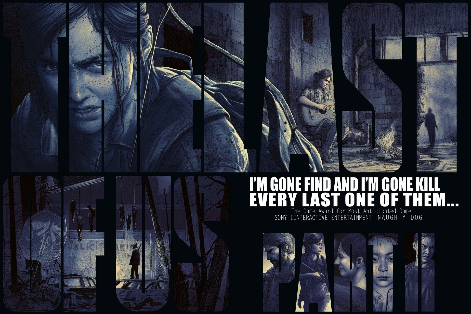 The Last Of Us 2 Fan Art Hd Wallpaper Background Image