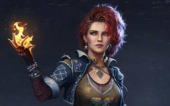 3 4k Ultra Hd Triss Merigold Wallpapers Background Images