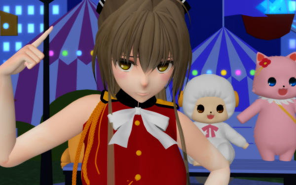 Anime Amagi Brilliant Park Macaron Tiramie Isuzu Sento HD Wallpaper | Background Image