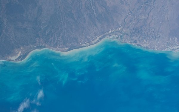 Earth From Space Coastline HD Wallpaper | Background Image