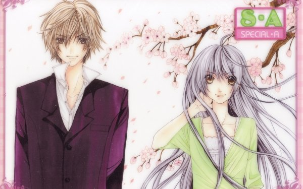 Anime Special A Kei Takishima Hikari Hanazono HD Wallpaper   Background Image