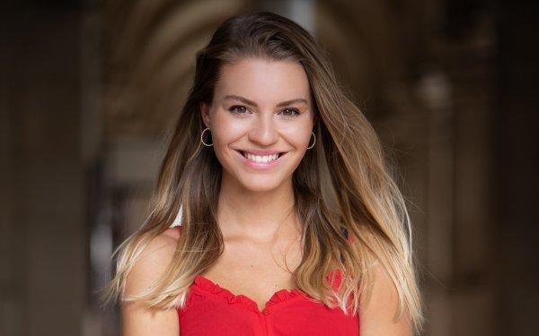 Women Model Models Smile Depth Of Field Brunette HD Wallpaper   Background Image