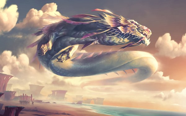 Videojuego Legends of Runeterra Dragón Fondo de pantalla HD   Fondo de Escritorio