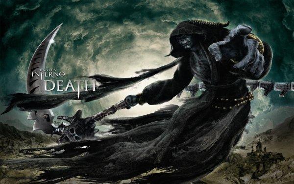 Videojuego Dante's Inferno Death Hell Game Grim Reaper Fondo de pantalla HD | Fondo de Escritorio