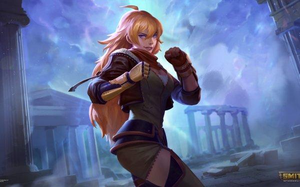 Video Game Smite Yang Xiao Long Terra HD Wallpaper   Background Image