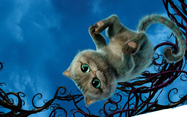 Movie Alice Through the Looking Glass (2016) Cheshire Cat HD Wallpaper | Background Image