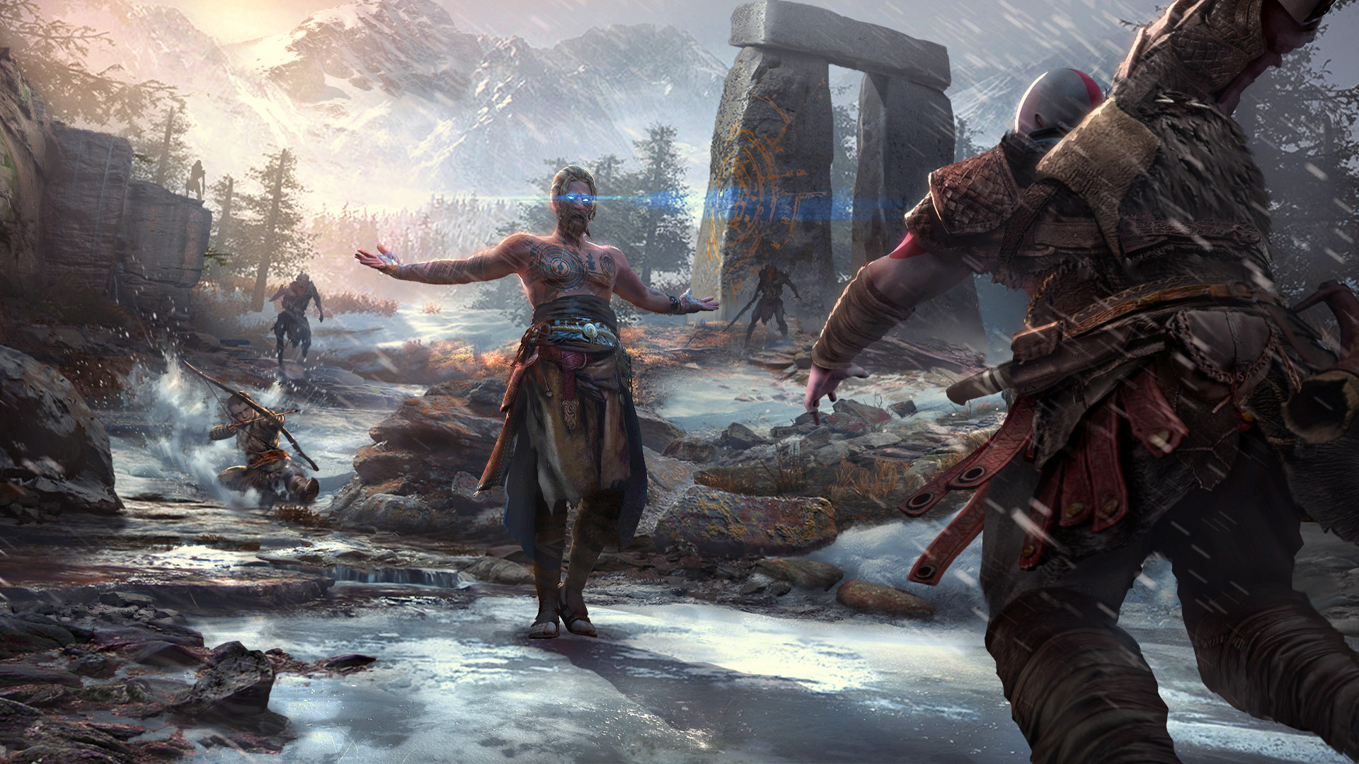 God Of War 2018 Hd Wallpaper Background Image 1920x1080 Id