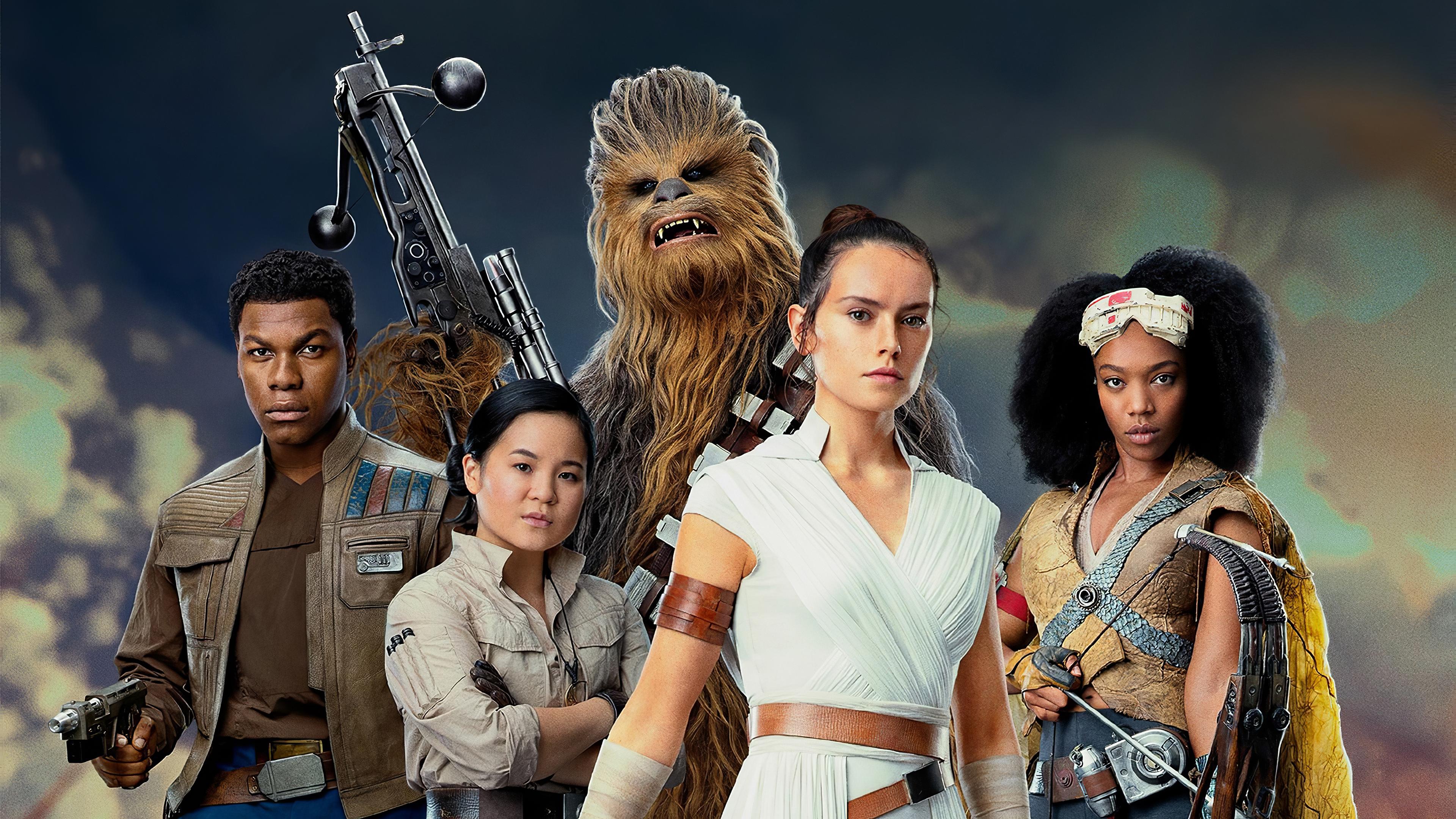 Star Wars The Rise Of Skywalker 4k Ultra Hd Wallpaper Background Image 3840x2160