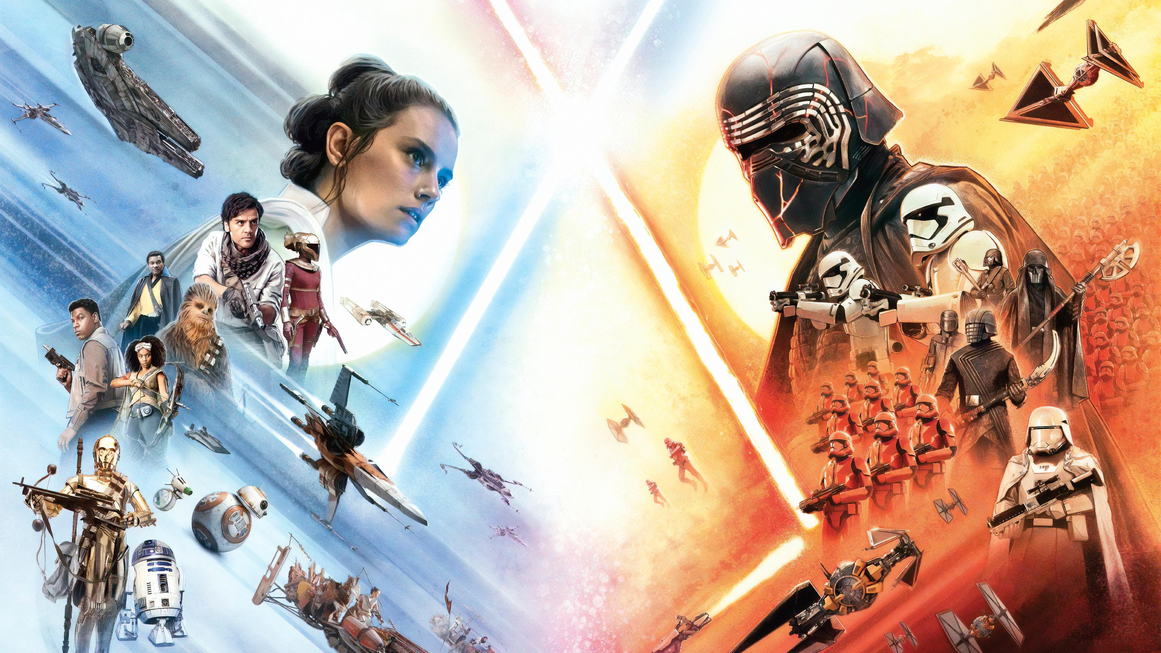 Star Wars The Rise Of Skywalker 4k Ultra Hd Wallpaper