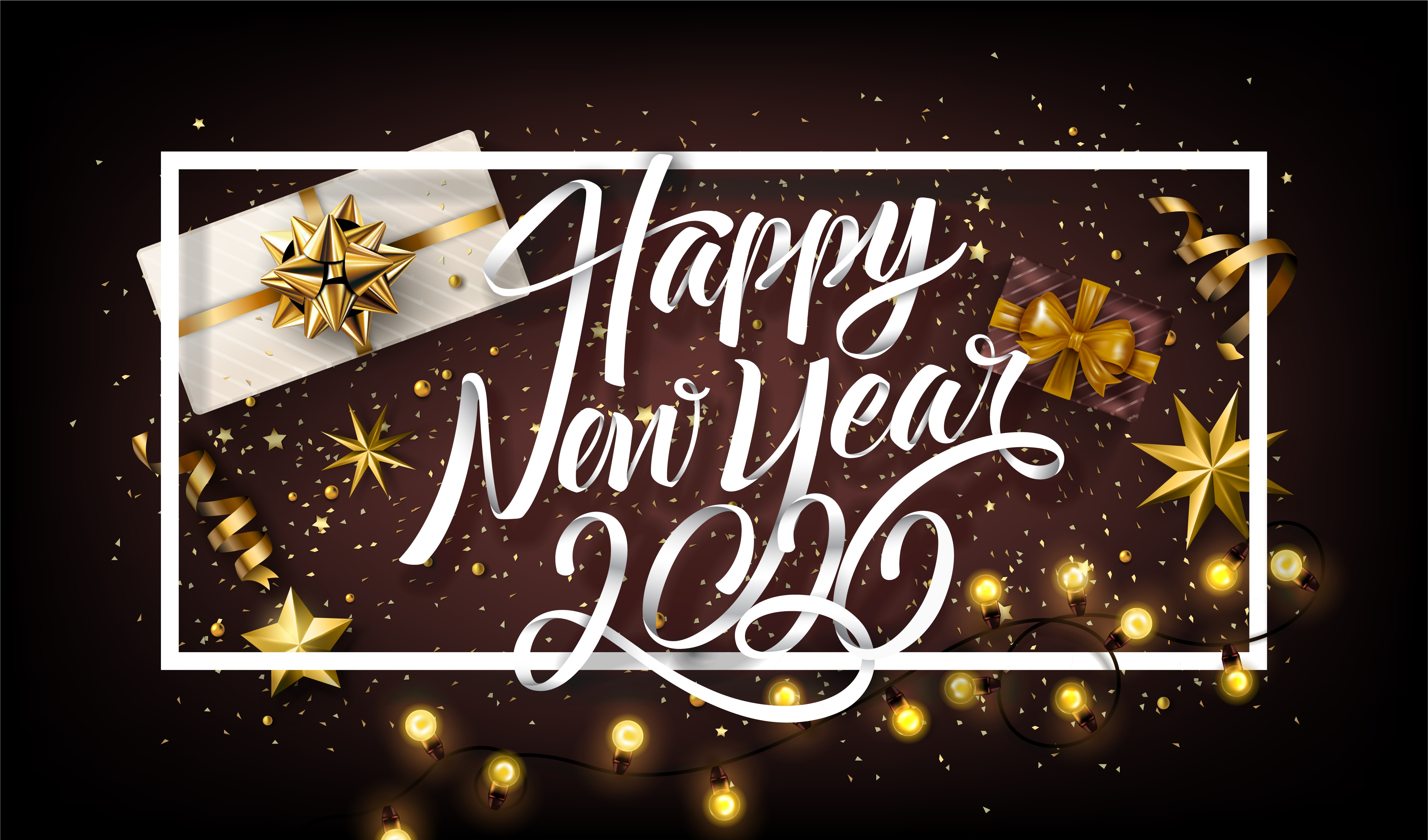 New Year 2020 4k Ultra Fond d'écran HD | Arrière-Plan | 4392x2585 | ID:1057926 - Wallpaper Abyss