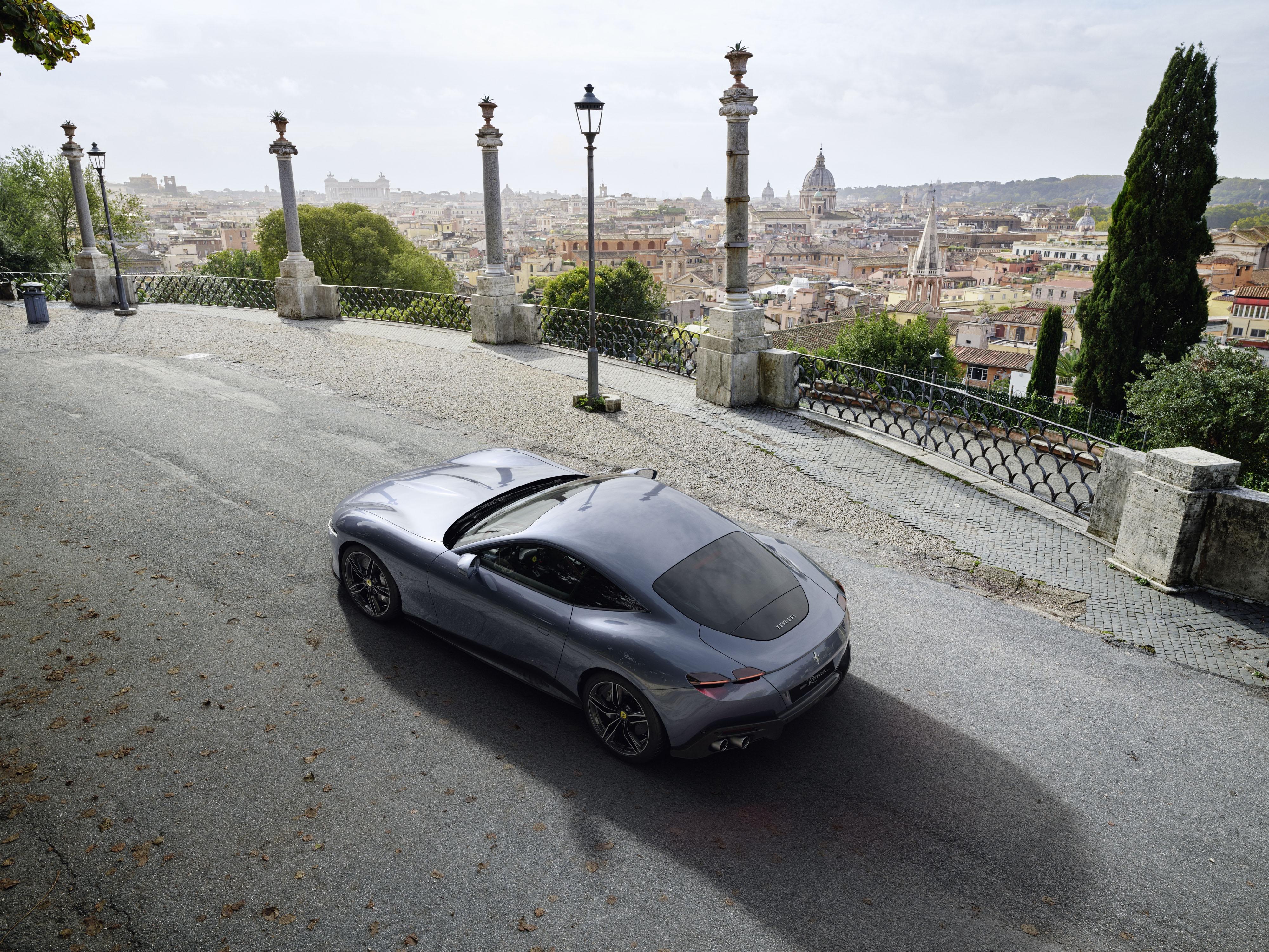 Ferrari Roma 4k Ultra Hd Wallpaper Background Image 4000x3000 Id 1058454 Wallpaper Abyss