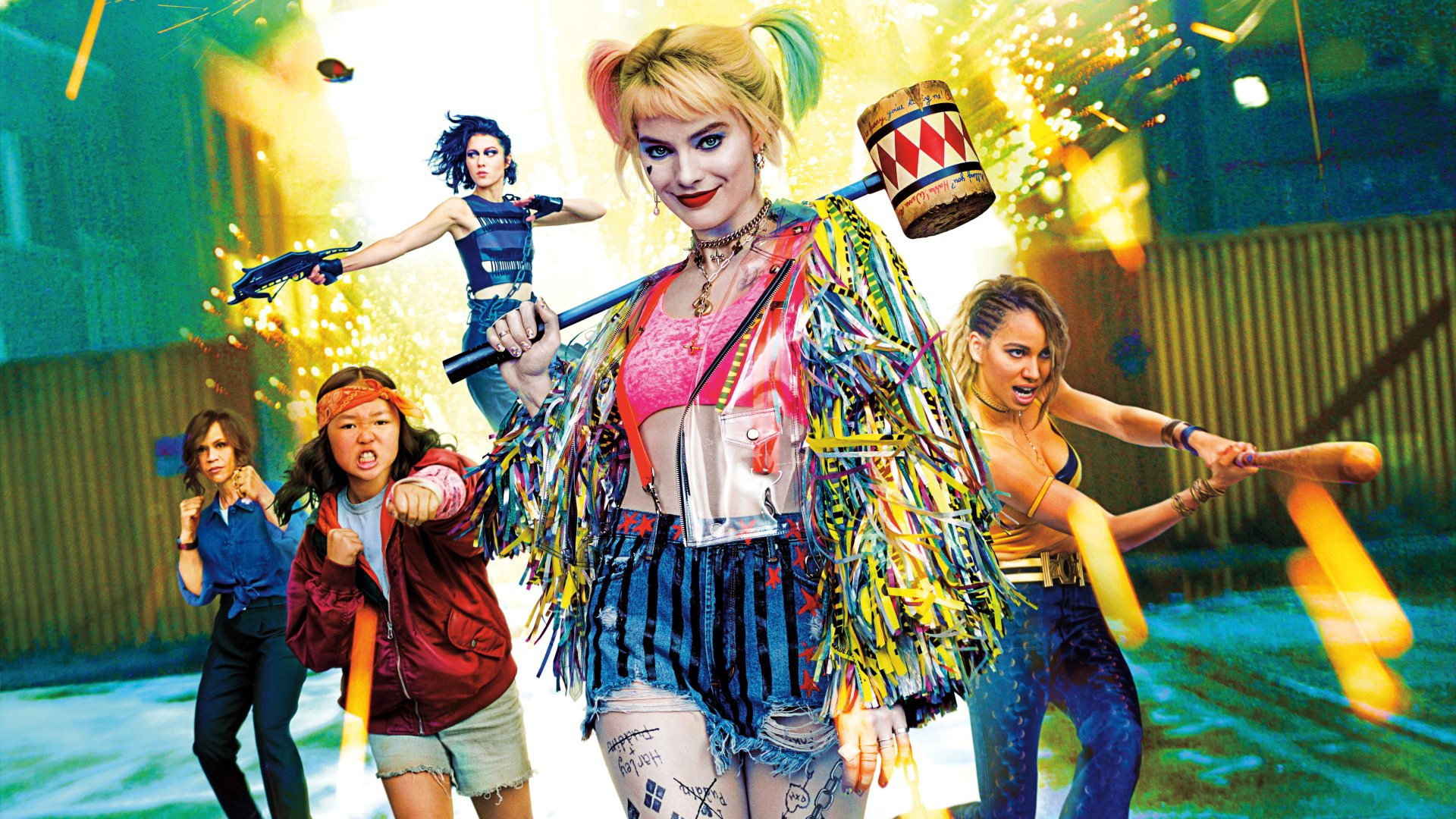 42 Birds Of Prey And The Fantabulous Emancipation Of One Harley Quinn Hd Wallpapers Background Images Wallpaper Abyss