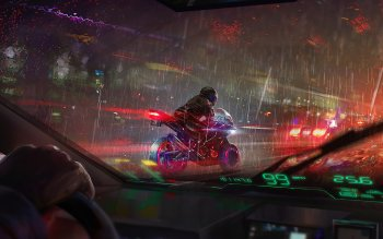124 4k Ultra Hd Cyberpunk Wallpapers Background Images Wallpaper Abyss
