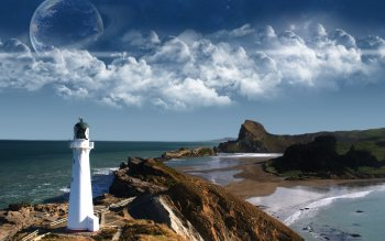 Man Made - Lighthouse Wallpapers and Backgrounds ID : 105902
