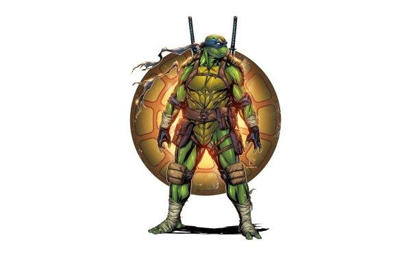 Comics TMNT Teenage Mutant Ninja Turtles Leonardo HD Wallpaper | Background Image