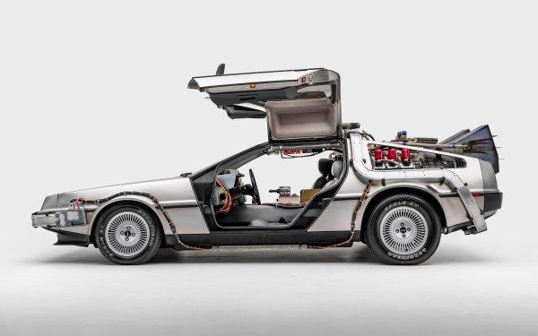 Movie Back To The Future DeLorean HD Wallpaper | Background Image