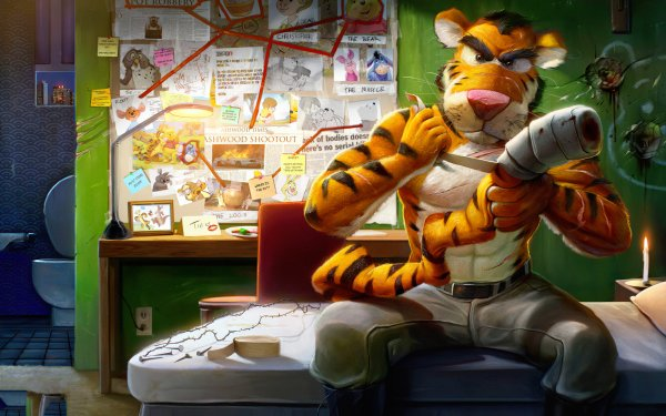 TV Show Winnie The Pooh Tiger HD Wallpaper | Background Image