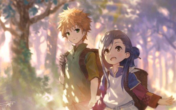Anime Ascendance of a Bookworm Lutz Myne HD Wallpaper | Background Image