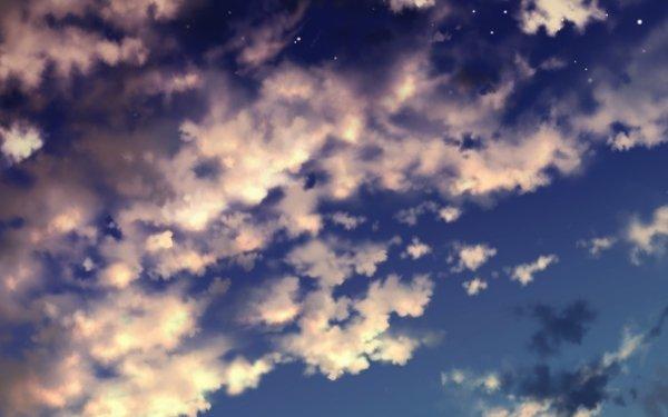 Anime Original Sky Cloud HD Wallpaper   Background Image