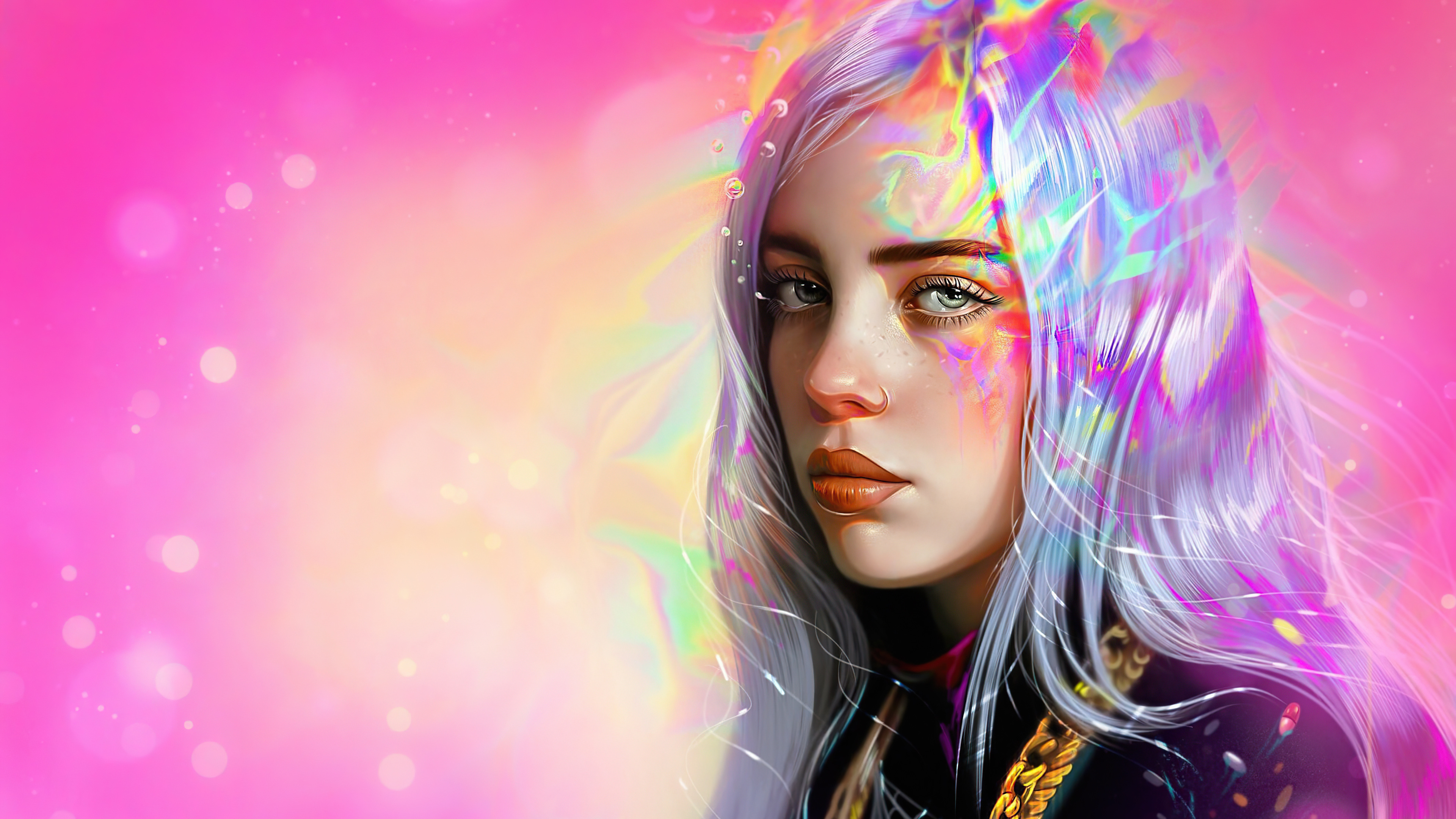 Billie Eilish 4k Ultra HD Wallpaper | Background Image ...