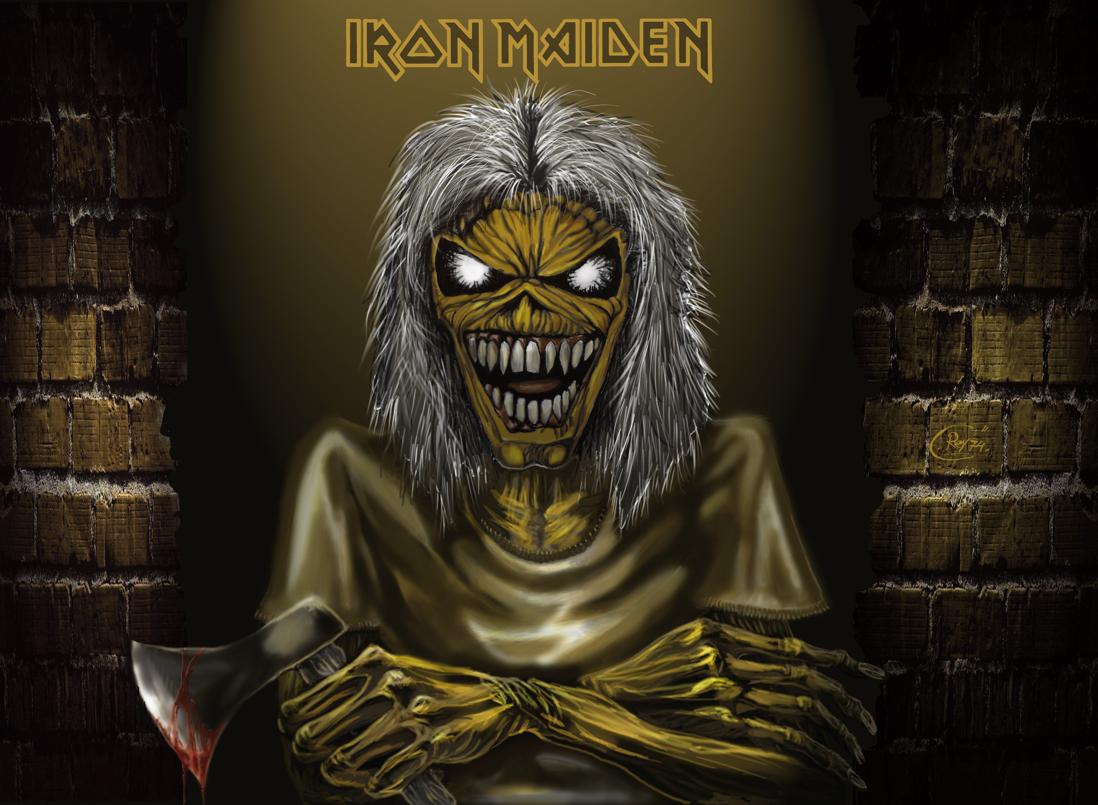 iron maiden wallpapers covers - photo #17