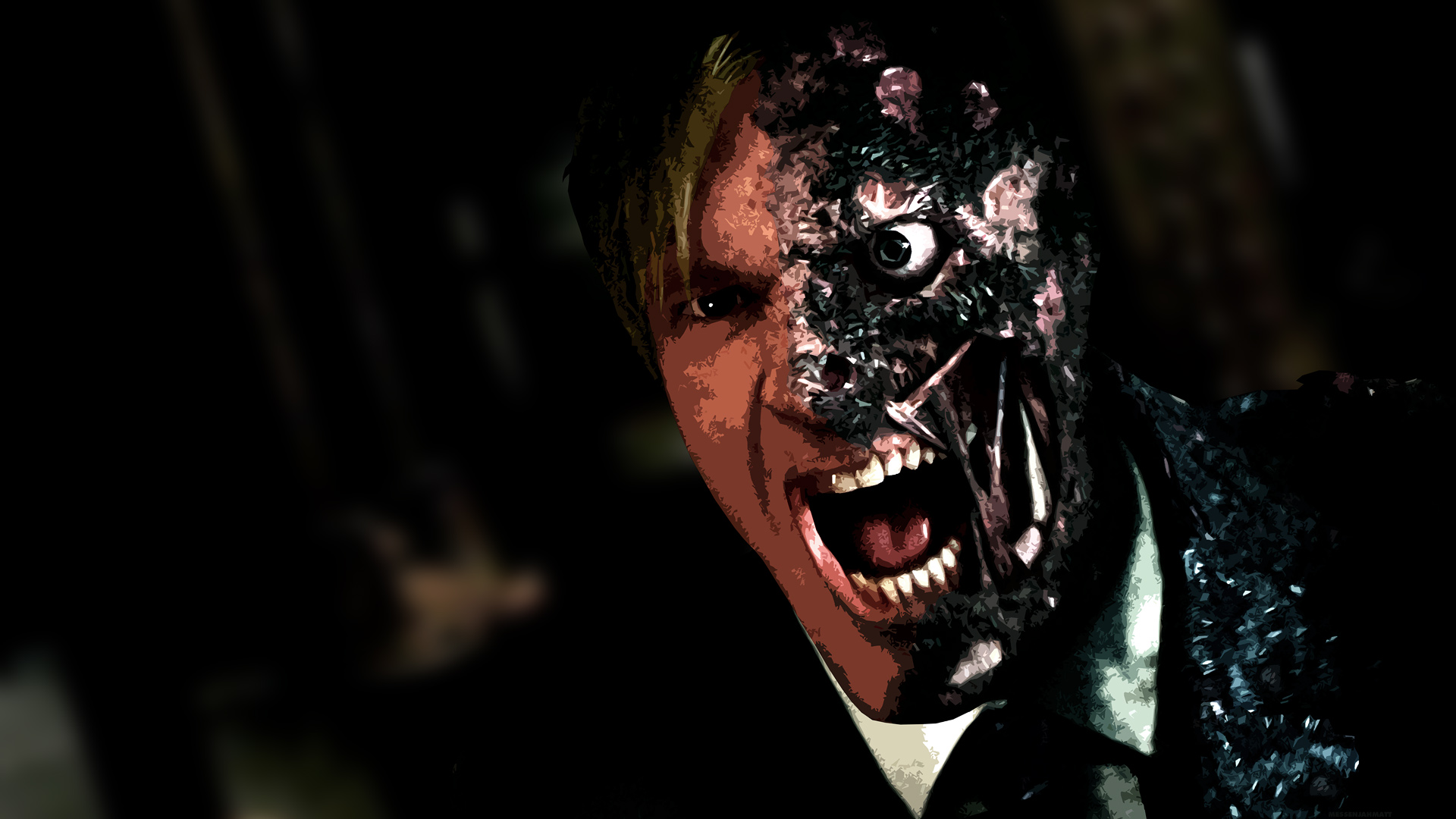 dark knight two face quotes quotesgram