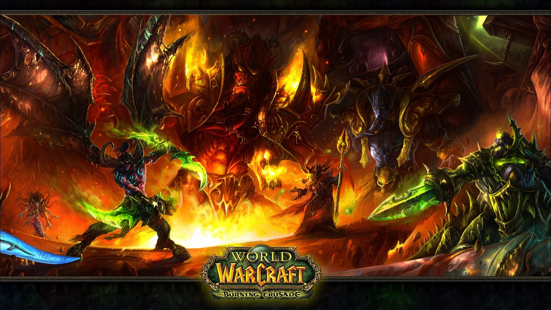 Video Game - World Of Warcraft  Lady Vashj Illidan Stormrage Kil'jaeden (World Of Warcraft) Kael'thas Sunstrider Magtheridon (World Of Warcraft) Wallpaper
