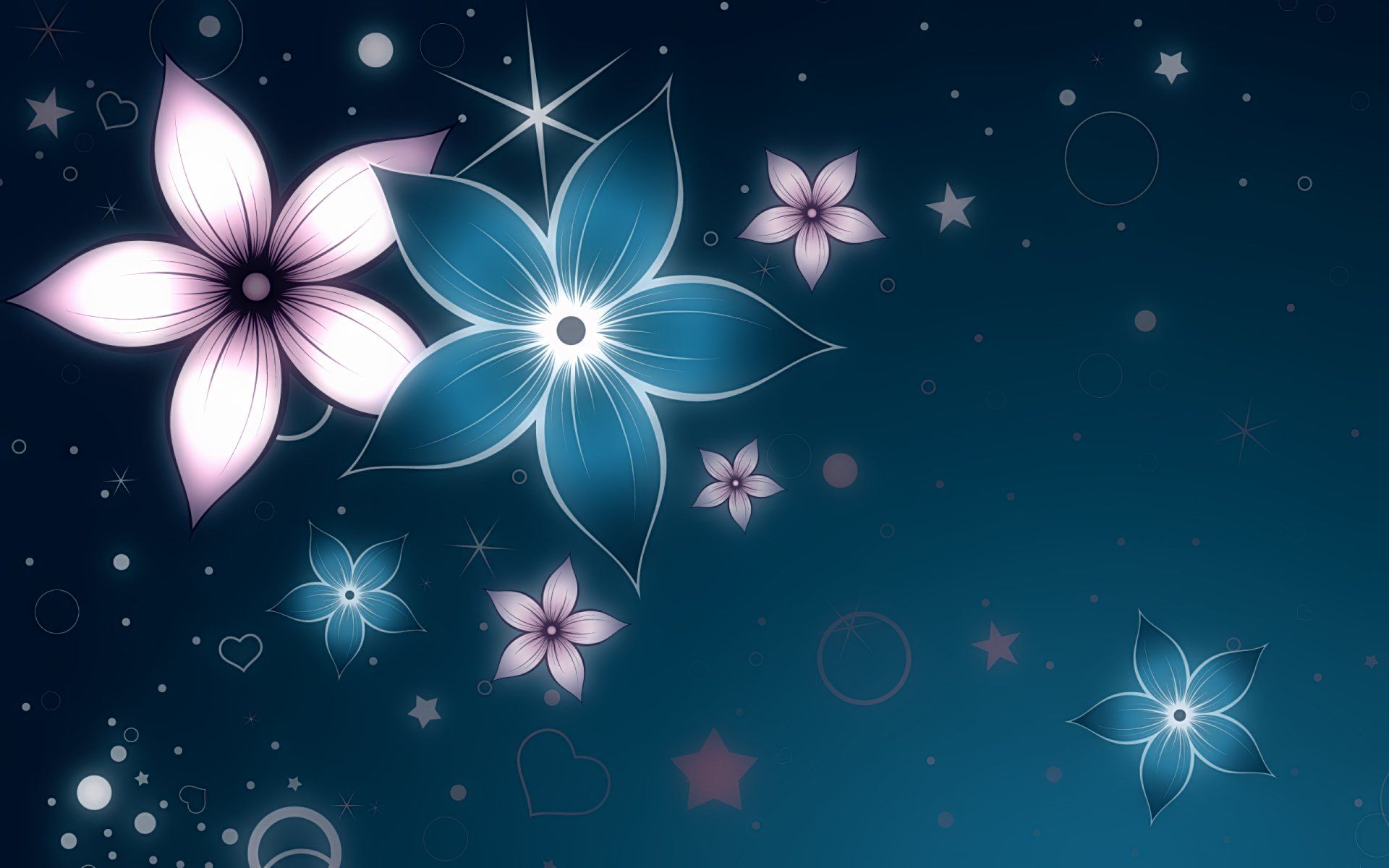 Artistic - Flower  Cloud Wallpaper