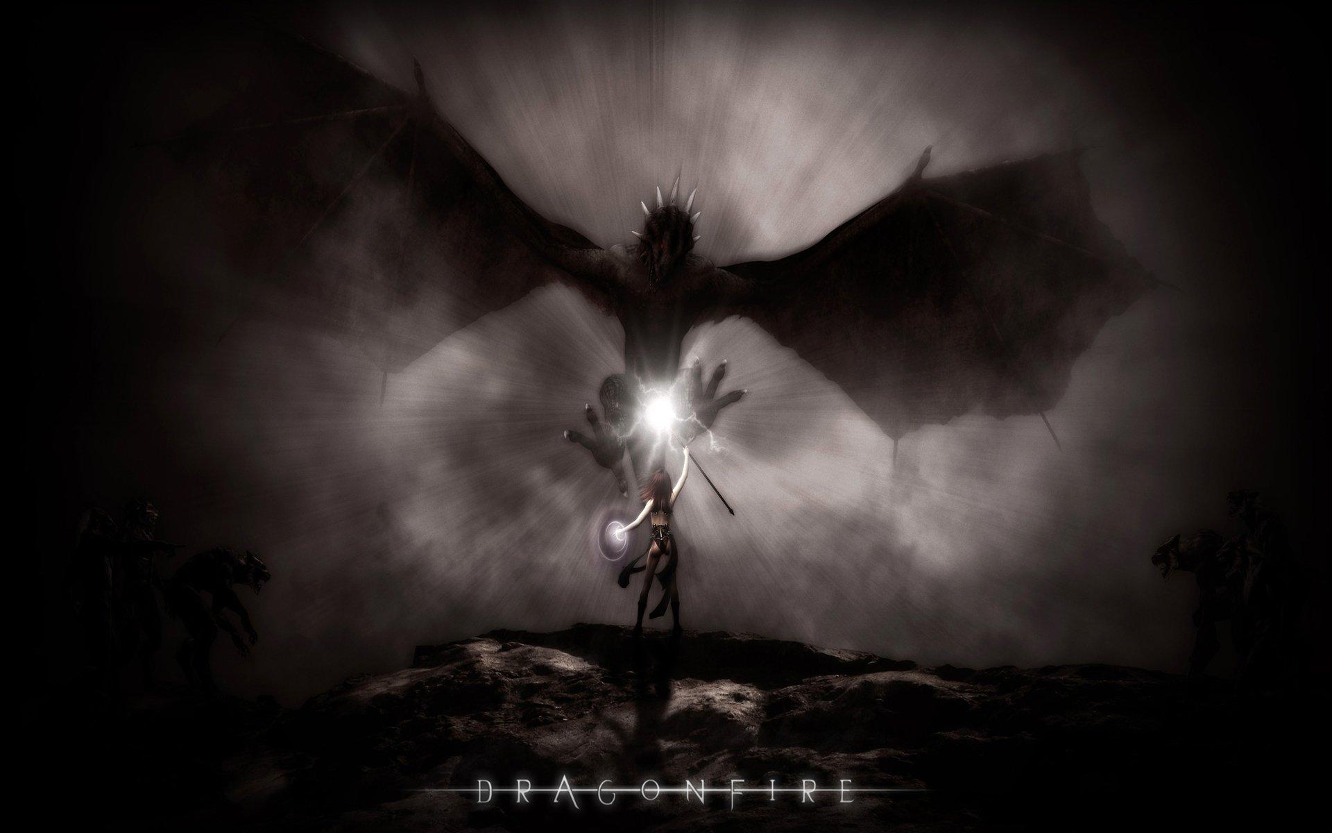 Fantasía - Dragón  Fondo de Pantalla