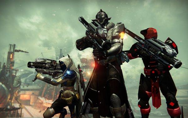 Video Game Destiny Hunter Titan Warlock HD Wallpaper | Background Image
