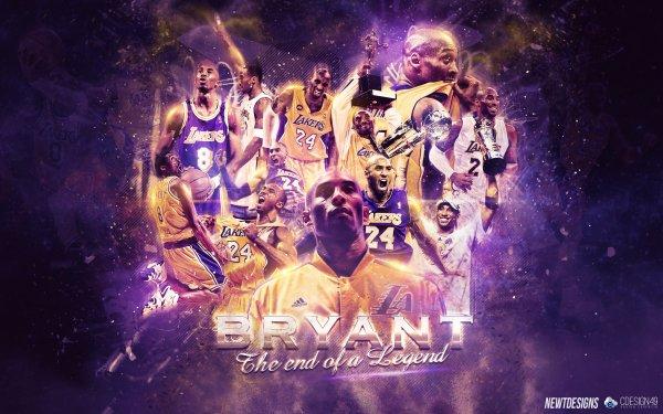 Sports Kobe Bryant Basketball Los Angeles Lakers NBA Fond d'écran HD | Image