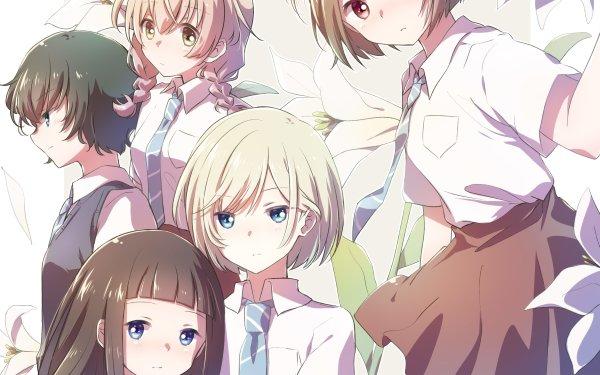 Anime Maidens of the Savage Season Kazusa Onodera Niina Sugawara Rika Sonezaki Momoko Sudō Hitoha Hongō HD Wallpaper | Background Image