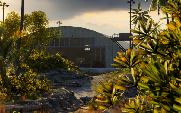 Video Game Battlefield V Battlefield Hangar Wake Island HD Wallpaper | Background Image