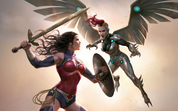 Movie Wonder Woman: Bloodlines Wonder Woman Silver Swan HD Wallpaper   Background Image