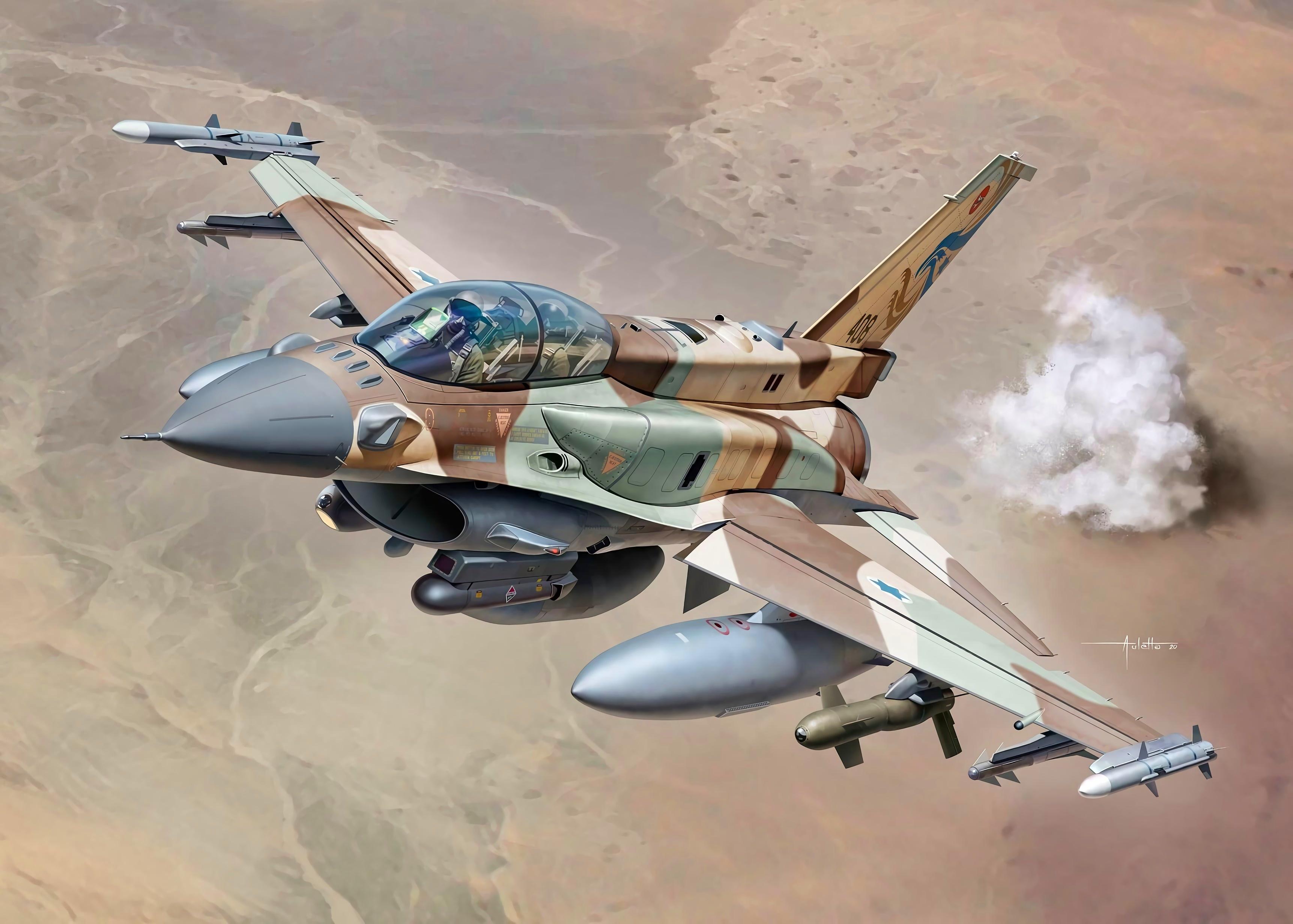 Обои force, military, F16. Авиация foto 13