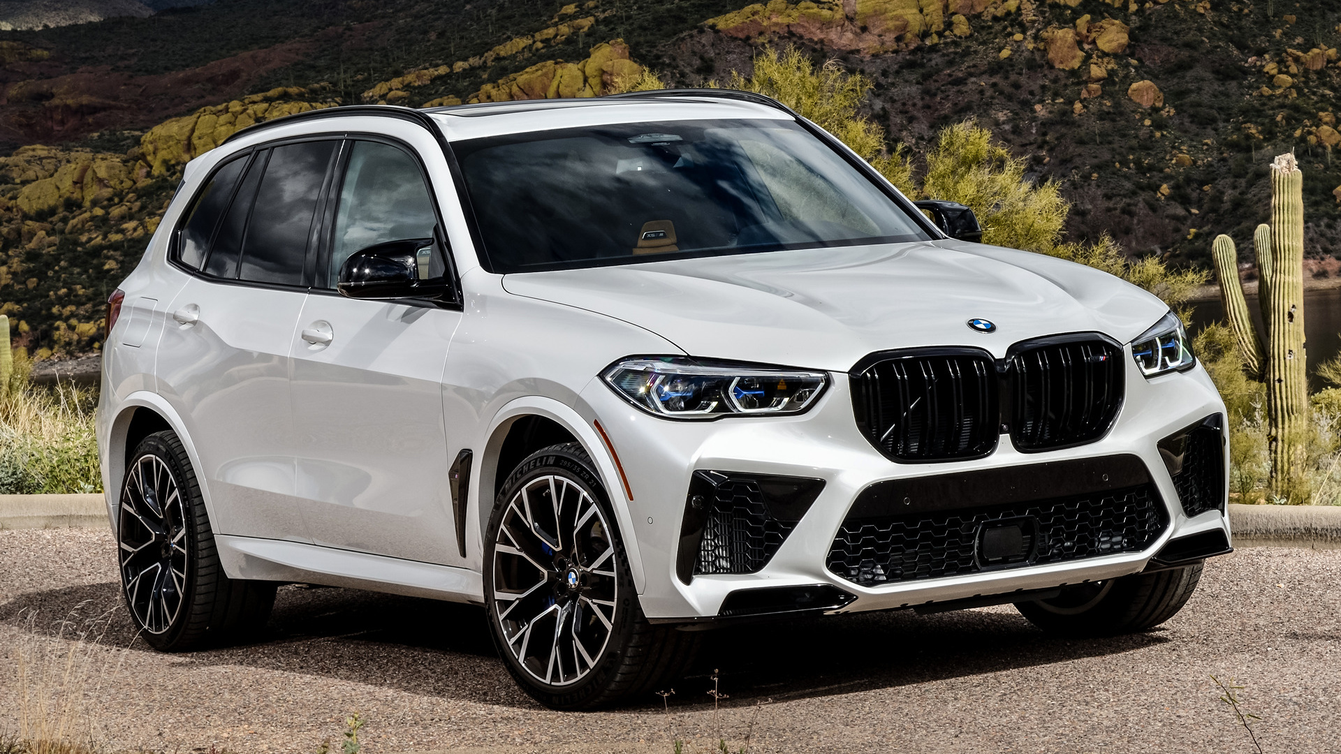 2020 BMW X5 M Competition HD Wallpaper | Background Image ...