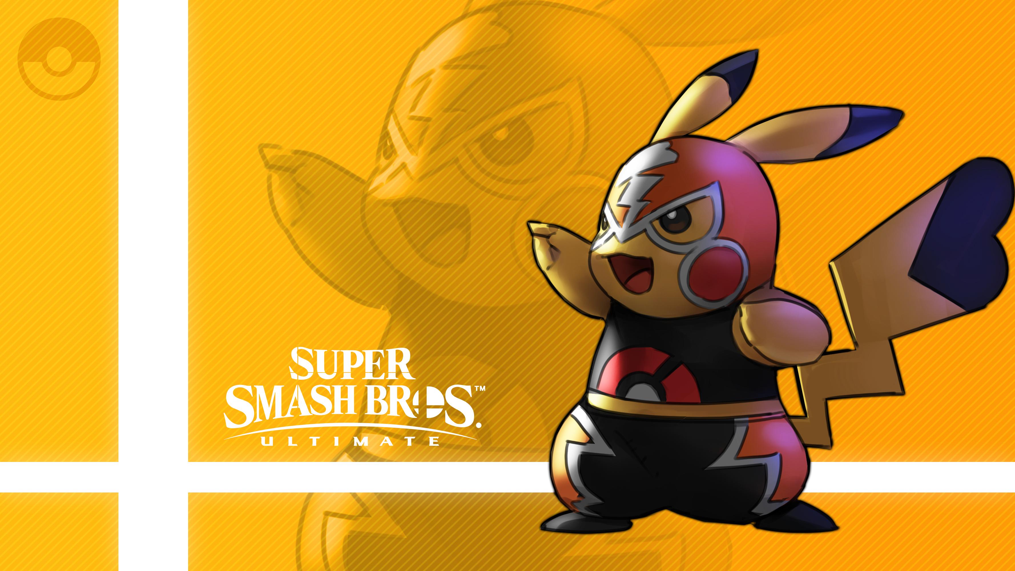 Pikachu Libre In Super Smash Bros. Ultimate HD Wallpaper ...