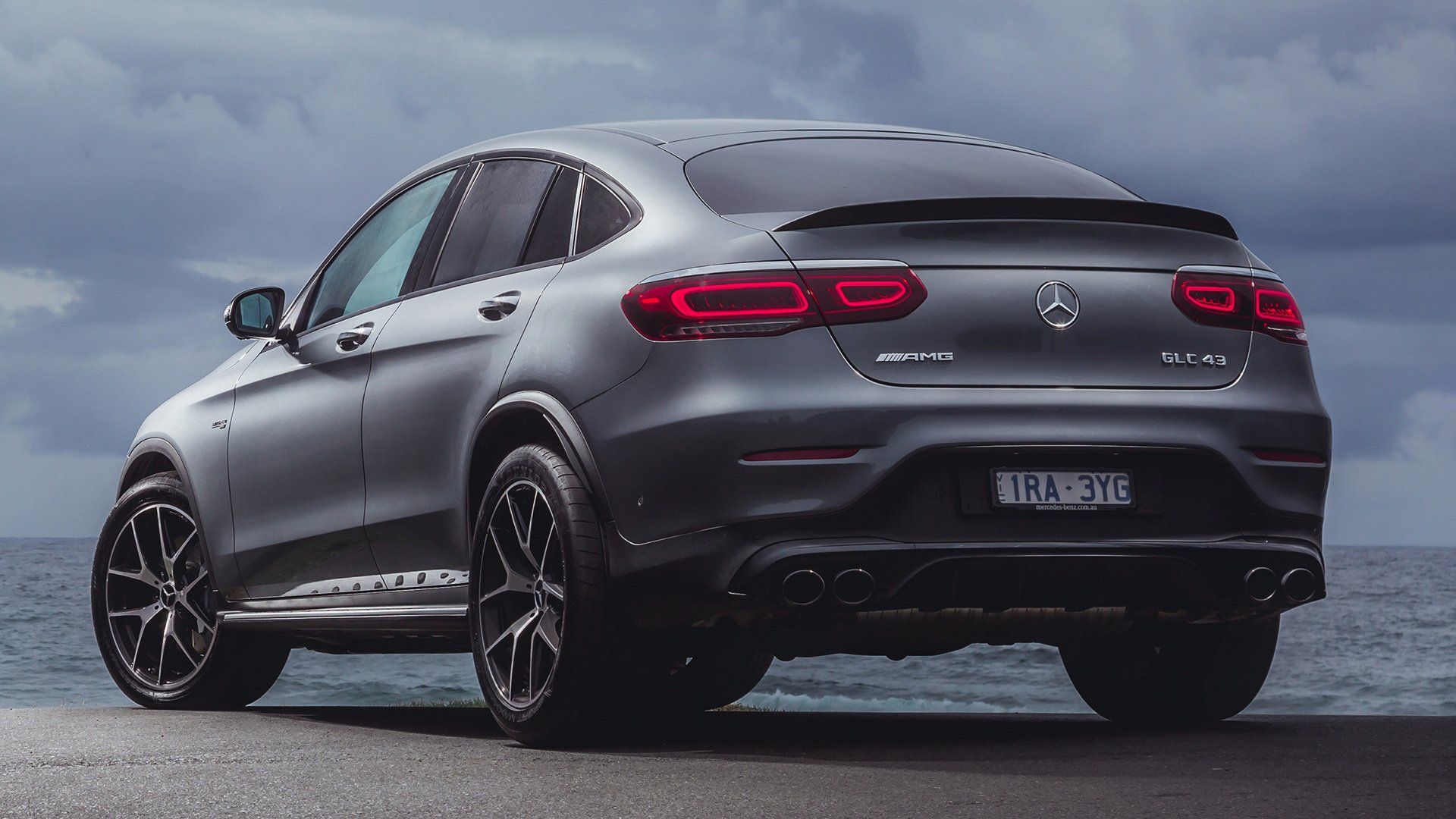 2020 Mercedes Amg Glc 43 Coupe Hd Wallpaper Background Image 1920x1080 Id 1070113 Wallpaper Abyss