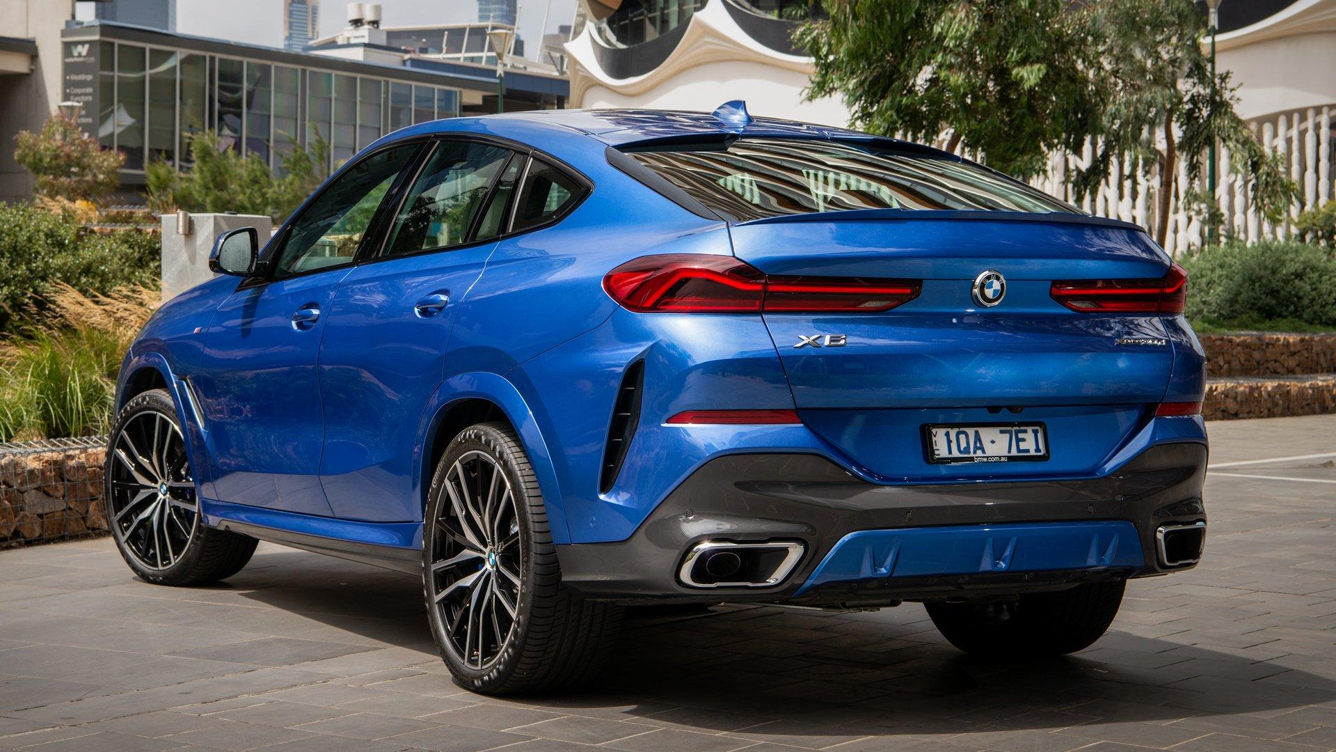 2020 BMW X6 M Sport HD Wallpaper | Background Image ...