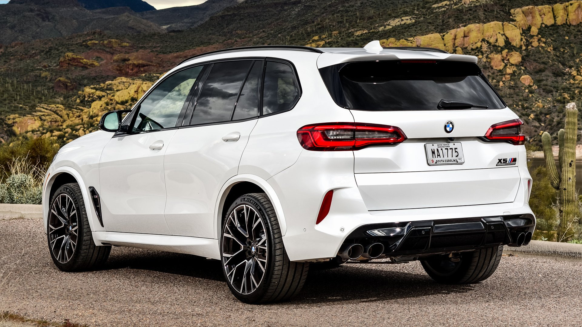 2020 BMW X5 M Competition HD Wallpaper   Background Image ...