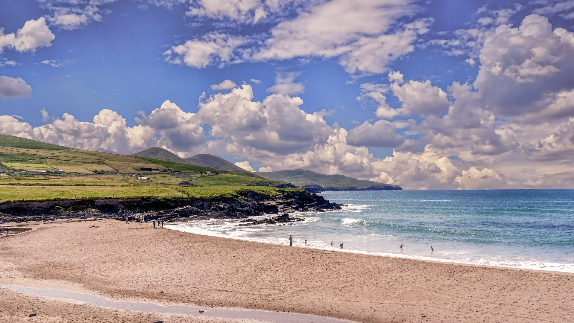 Irish Coast 4k Ultra HD Wallpaper   Background Image ...
