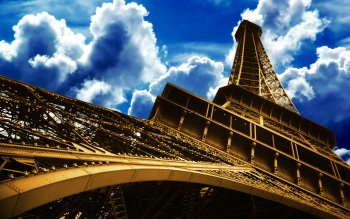 Man Made - Eiffel Tower Wallpapers and Backgrounds ID : 107410