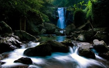 Earth - Waterfall Wallpapers and Backgrounds