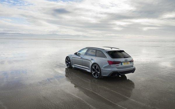 Vehicles Audi RS6 Avant Audi Audi RS6 Car Silver Car Luxury Car HD Wallpaper   Background Image