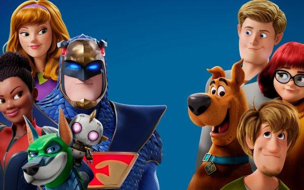 Movie Scoob! Scooby-Doo Shaggy Rogers Fred Jones Daphne Blake Velma Dinkley Blue Falcon Dynomutt Dee Dee Skyes HD Wallpaper | Background Image