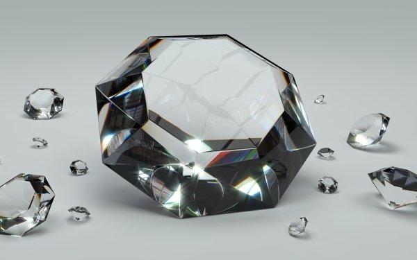 Earth Diamond Gemstone HD Wallpaper | Background Image